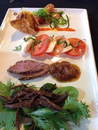 Ochre Restaurant: An assortment of an appetizer
