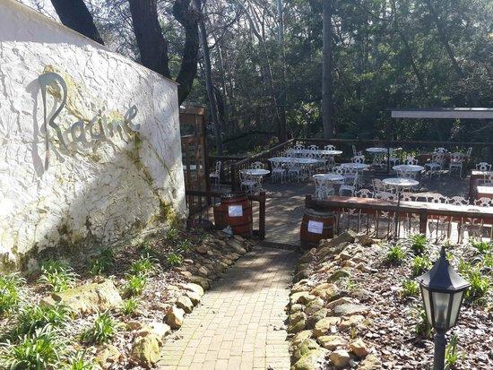 Racine Restaurant: Outside deck