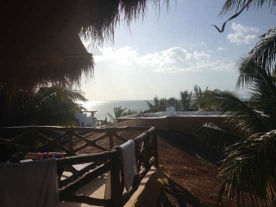 Holbox Dream Hotel by Xperience Hotels: The ocean view from our balcony