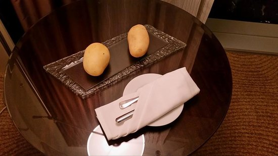 Fairmont Makati: These are not raw potatoes