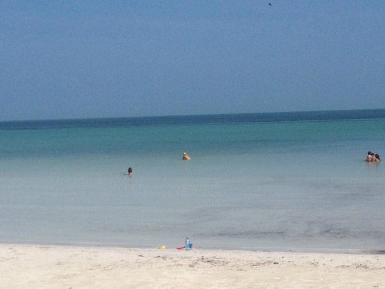 Holbox Dream Hotel by Xperience Hotels: The view from the beach.