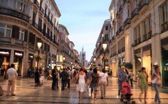 City Sightseeing Malaga : Calle Larios