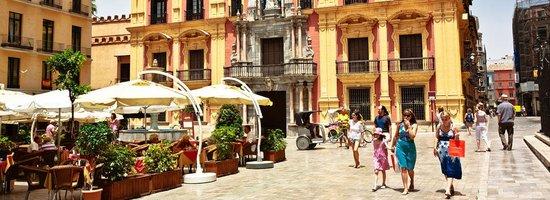 City Sightseeing Malaga : Málaga -  down town