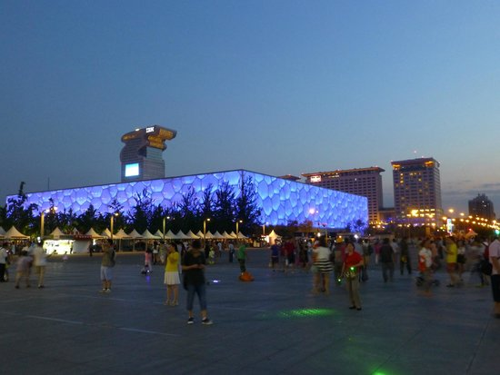 Olympic Park: La piscine olympique