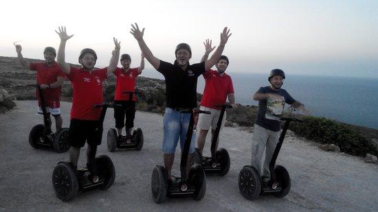Gozo Segway Tours: 41 Club Melita -July 2014.