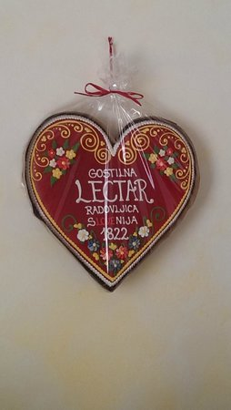 Gostilna Lectar: Lectar heart above your bed in the room