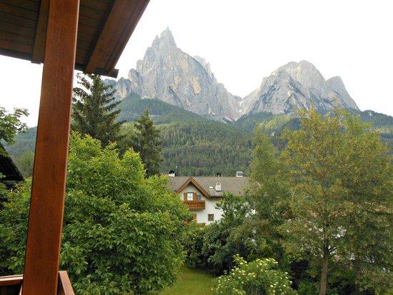Garni Alpin: view from the balcony