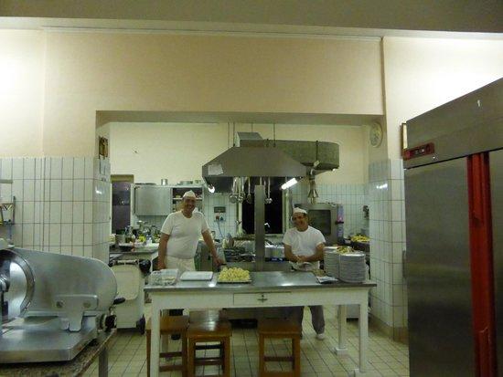 Il Capanno: The staff