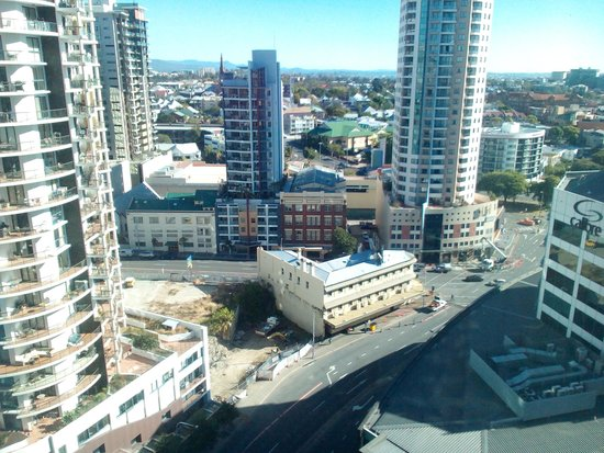 Brisbane Marriott Hotel: magnificent views stated on my booking