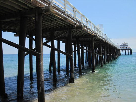Malibu Pier from Beach.