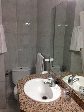 Hotel Amic Miraflores: bagno