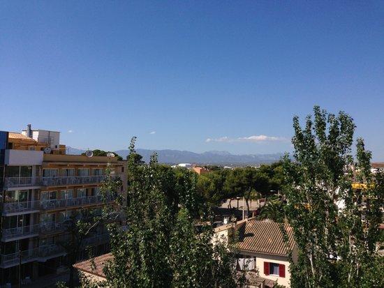 Hotel Amic Miraflores: veduta dal balcone