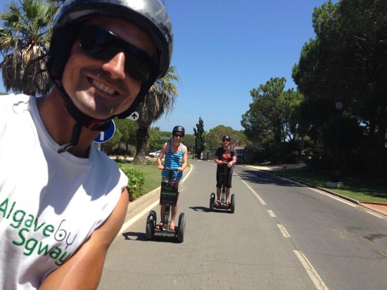 Algarve By Segway: Nelson photobombing! Brilliant experience...