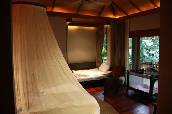 Anantara Rasananda Koh Phangan Villas : Pool suite room