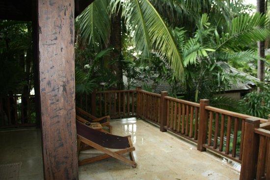 Anantara Rasananda Koh Phangan Villas : Pool suite terrasse