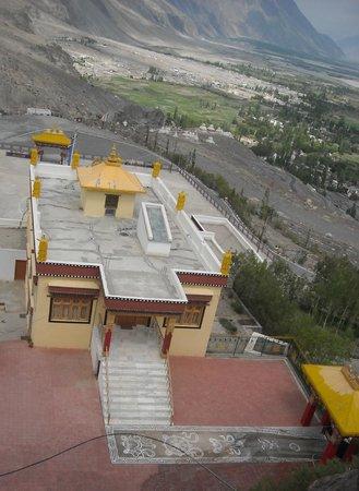 Diskit Gompa (Diskit Monastery): View from open monastery