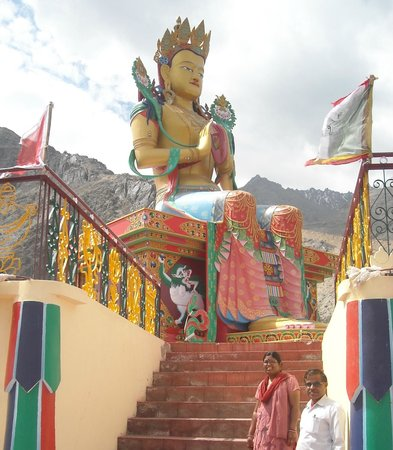 Diskit Gompa (Diskit Monastery): The majestic Budha