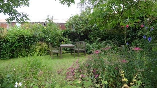 The Old Star: A sheltered spot in the garden.