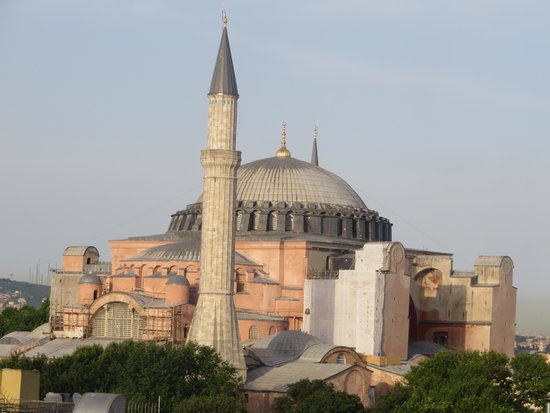 Ambassador Hotel: Hagia Sophia view from roof deck