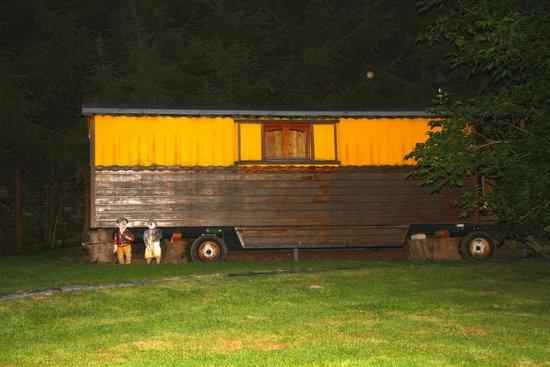 Lisogne, Bélgica: Nog eens de caravan