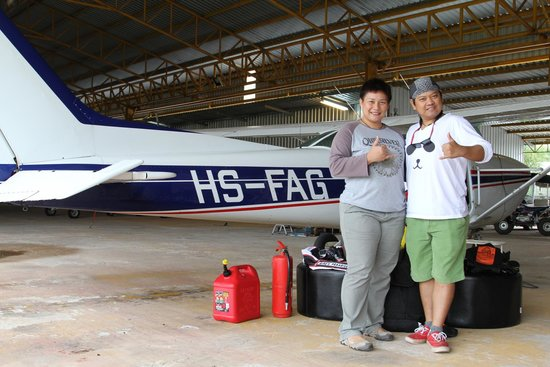 Bird's Paradise Skydiving : Khun Bird and me