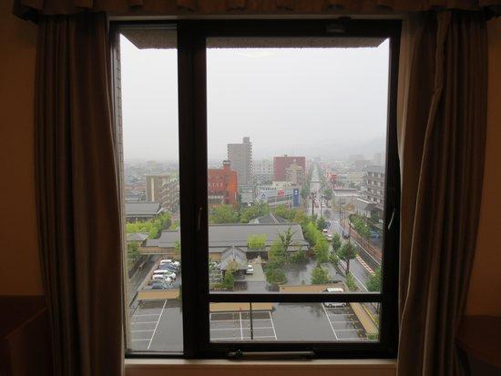 Hotel New Tanaka : 窓からの眺め