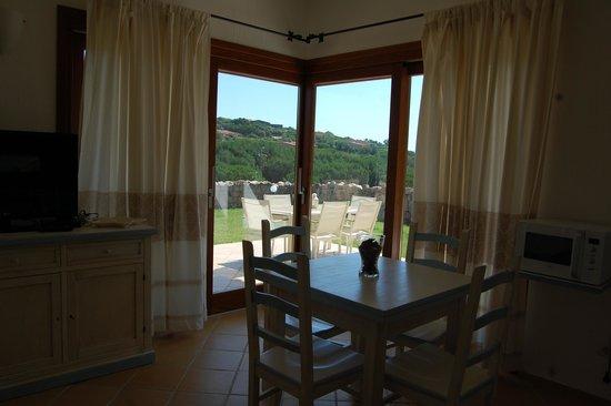 Resort Le Saline Palau: Living Room Two Bedrooms Villa