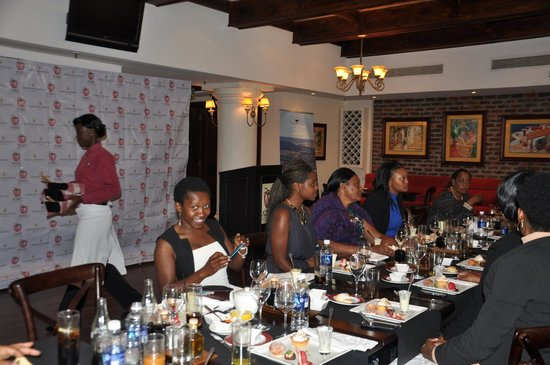ROSSO at InterContinental Hotel Lusaka - Picture of ROSSO Trattoria - Pizzeri...