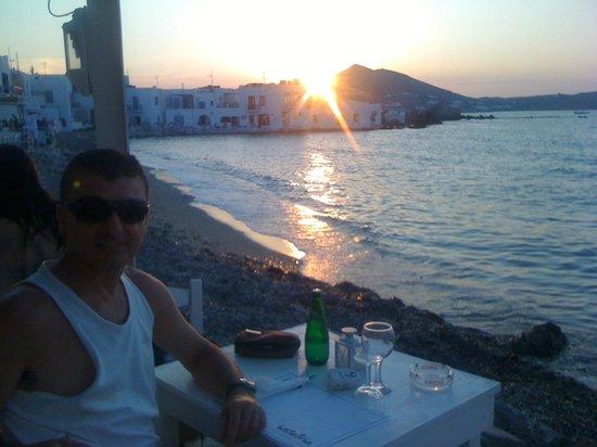 Hostatria Ristorante Italiano: The view from the Hostratria at sunset