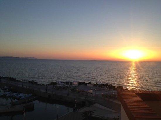 Hotel Tirreno: tramonto