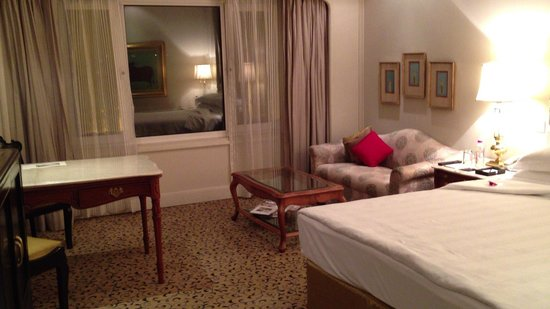 Taj Palace Hotel: ベッドルーム