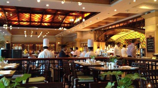 Taj Palace Hotel: 朝食会場