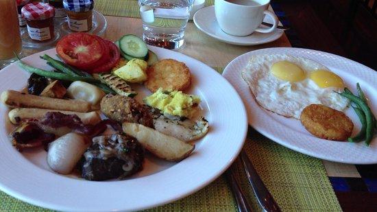 Taj Palace Hotel: 朝食
