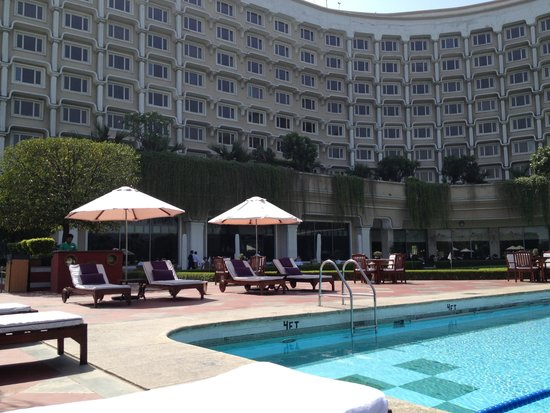 Taj Diplomatic Enclave, New Delhi: プール