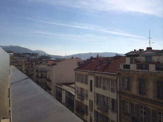 Mercure Nice Centre Notre Dame : Terrace view of the city