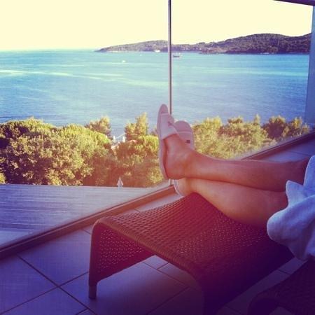 Sun Gardens Dubrovnik: sea view
