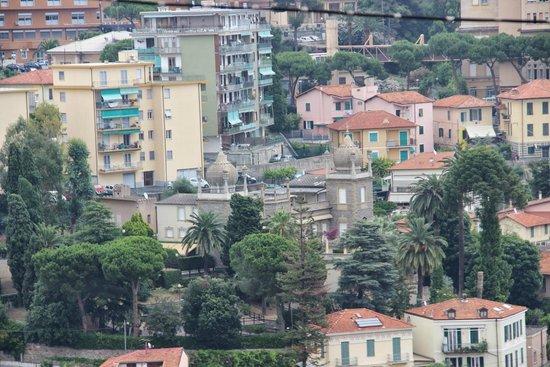 La Pigna : Панорамный вид на Сан Ремо над старым городом