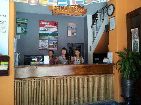 Hue Backpackers' Hostel: Reception