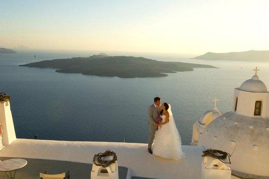 Aigialos Hotel: View