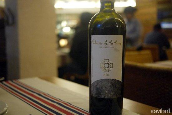"""Baco Vino y Bistro: Carignan 2009 """"Dueño de la Luna"""""""