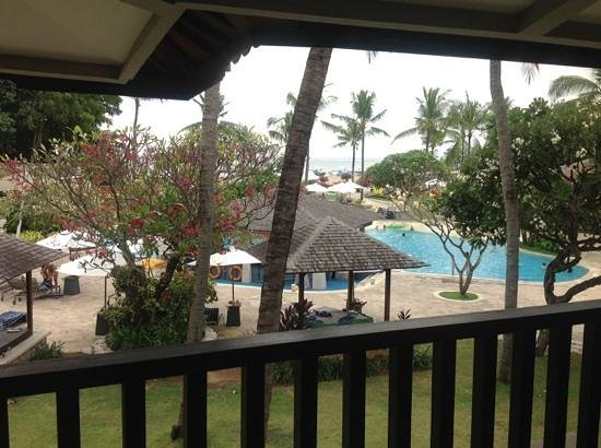 Holiday Inn Resort Baruna Bali: View from one bedroom suite balcony.