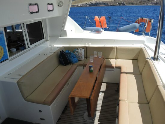 Santorini Sailing Center: Ship shape eh?