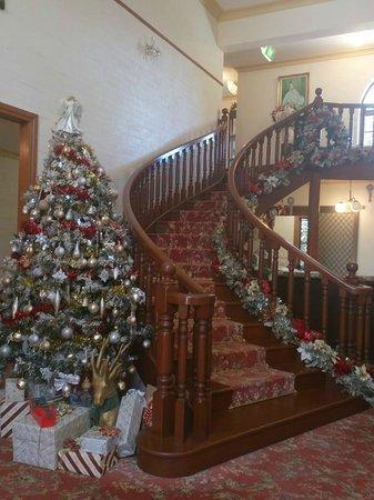 Bungunyah Manor Resort: Reception area