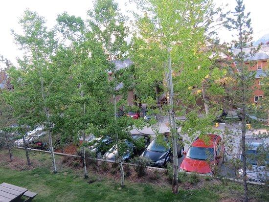 Hidden Ridge Resort : Parking