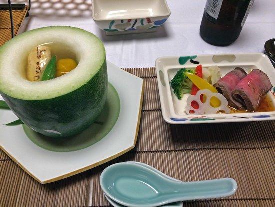 Shikisai Ichiriki: 夕食