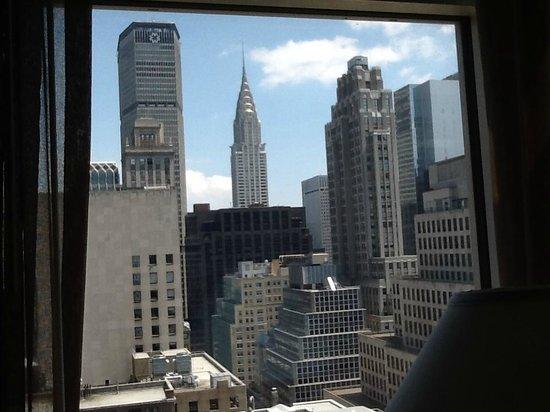 Sofitel New York: vue de la chambre - 28ème étage