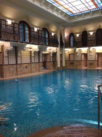 Corinthia Hotel Budapest : Alleine dafür lohnt sich der Besuch im Corinthia.
