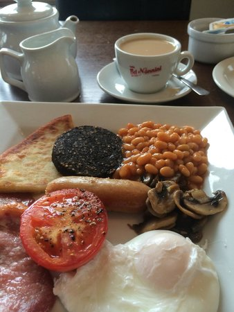 Lamlash Bay Hotel : Full Scottish Breakfast