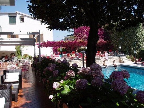 Majestic Palace Hotel : La piscine et les terrasses