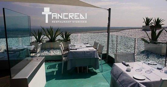 Tancredi Restaurant: The terrace
